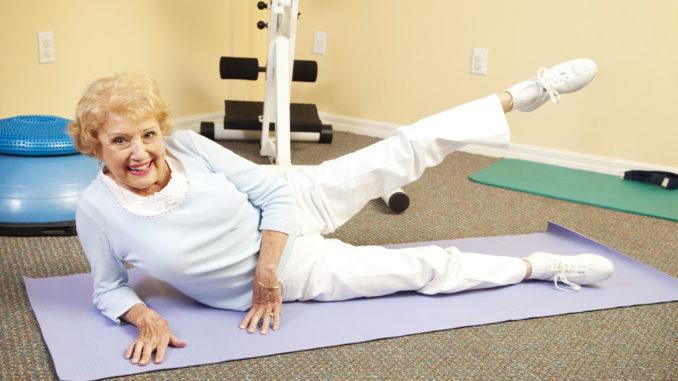 Pilates Senioren Ältere